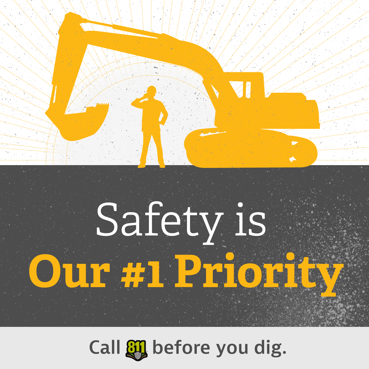 Call 811 Before You Dig
